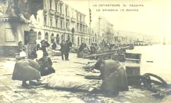 Lungomare Messina 1908